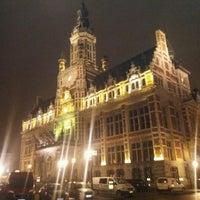 Photo taken at Place Colignonplein by Stéphane C. on 2/8/2017
