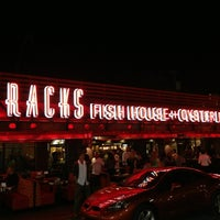 Photo taken at Racks Oyster And Steak House by Jeff K. on 3/17/2013
