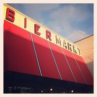 Photo taken at Bier Markt by Glenn C. on 3/8/2013