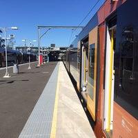 Photo taken at Macarthur Station (Platforms 1 & 2) by David K. on 11/20/2013