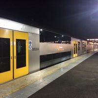 Photo taken at Macarthur Station (Platforms 1 & 2) by David K. on 9/5/2014