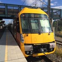 Photo taken at Macarthur Station (Platforms 1 & 2) by David K. on 5/30/2014