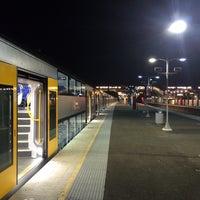 Photo taken at Macarthur Station (Platforms 1 & 2) by David K. on 7/3/2014