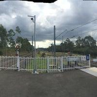 Photo taken at Macarthur Station (Platforms 1 & 2) by David K. on 3/20/2014
