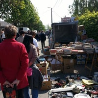 Photo taken at Brocante de Mortroux by Roger C. on 5/4/2014