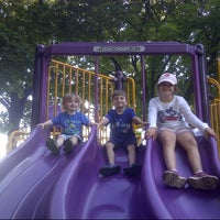 Photo taken at Purple Park by Greg D. on 7/21/2013