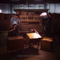 Photo taken at Udom Furniture Factory by Nini H. on 10/17/2013