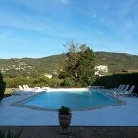 Photo taken at U Libbiu Hotel by Céline B. on 5/6/2014
