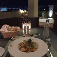 Photo taken at Mediterranean Restaurant Sheraton by Mika V. on 9/28/2015