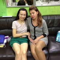 Photo taken at Kung Beauty Salon by Teerada on 11/18/2012