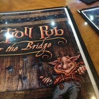Photo taken at The Troll Pub Under The Bridge by William K. on 1/1/2013