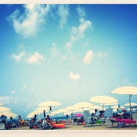 Photo taken at Beach Scarcella by Agata S. on 8/15/2013