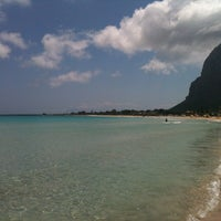 Photo taken at Beach Scarcella by Agata S. on 5/7/2013