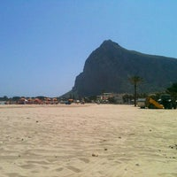 Photo taken at Beach Scarcella by Agata S. on 5/3/2013