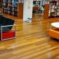 Photo taken at Biblioteca Municipal Eduardo Lourenço by Vitor R. on 3/28/2014