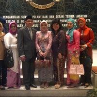 Photo taken at Balai Agung by Ratu D. on 5/24/2013
