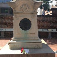 Photo taken at Grave of Edgar Allan Poe by Liante L. on 8/26/2013