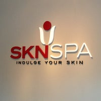 Photo taken at SKN Spa by Melanie A. on 10/11/2013