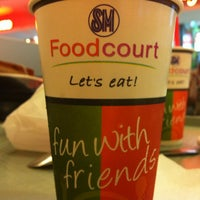 Photo taken at SM Food Court by Jheng Macatimpag/ w. on 10/12/2012