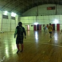 Photo taken at Quadra Tristezense Futsal by Odair José C. on 1/16/2013