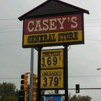 Photo taken at Casey's General Store by Michelle on 10/13/2012