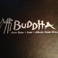 Photo taken at Buddha Asian Bistro & Hibachi by JC M. on 3/24/2013