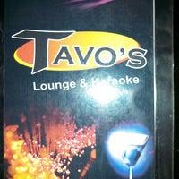 Photo taken at Tavo's Lounge & Karaoke by Henry B. on 3/16/2014