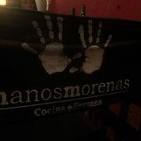 Photo taken at Manos Morenas by Pela P. on 12/27/2013