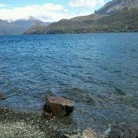 Photo taken at Lago Gutiérrez by Maximiliano A. on 10/23/2012