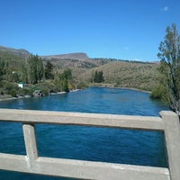 Photo taken at Naciente del Limay by Maximiliano A. on 11/11/2012