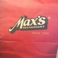 Photo taken at Max's Restaurant by Mae S. on 1/19/2013