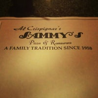 Photo taken at Sammy's Pizza & Italian Restaurant by Wil C. on 2/10/2013