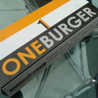 Photo taken at One Burger by Luke A. on 11/4/2012