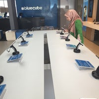 Photo taken at Celcom Blue Cube by Aziera A. on 1/8/2016