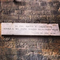 Photo taken at Museo Casa di Dante by Bruno W. on 5/2/2013