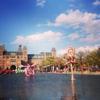 Photo taken at Museumplein by Anna C. on 5/9/2013