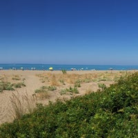 Photo taken at Etruria beach by PS // V. on 9/3/2015