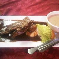 Photo taken at Fiske Steakhouse by bun m. on 1/10/2013