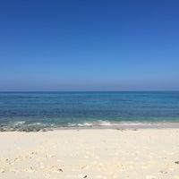 Photo taken at Nagamahama Beach by Karin on 9/19/2017