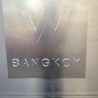 Photo taken at W Bangkok by Jeremy N. on 2/13/2013