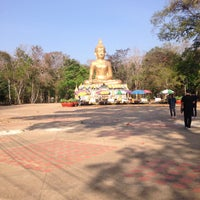 Photo taken at พุทธอุทยานพระมงคลมิ่งเมือง by Nutchanat S. on 3/2/2017