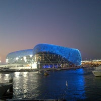 Photo taken at Yas Marina Circuit by Amer on 11/2/2012