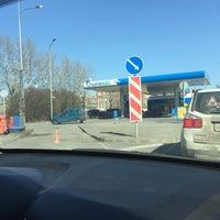 Снимок сделан в Газпромнефть АЗС № 30 пользователем Andrei P. 4/14/2018