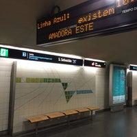 Photo taken at Metro São Sebastião [AZ,VM] by Orlando Santos A. on 7/3/2014
