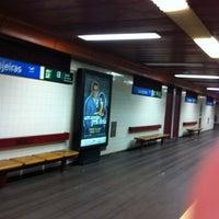 Photo taken at Metro Laranjeiras [AZ] by Orlando Santos A. on 11/17/2012