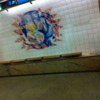 Photo taken at Metro Saldanha [AM,VM] by Orlando Santos A. on 12/28/2012