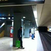 Photo taken at Metro Restauradores [AZ] by Orlando Santos A. on 12/15/2012