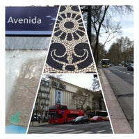 Photo taken at Metro Avenida [AZ] by Orlando Santos A. on 3/19/2013
