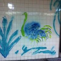 Photo taken at Metro Jardim Zoológico [AZ] by Orlando Santos A. on 11/18/2012