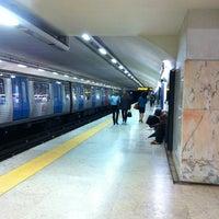 Photo taken at Metro Saldanha [AM,VM] by Orlando Santos A. on 3/27/2013